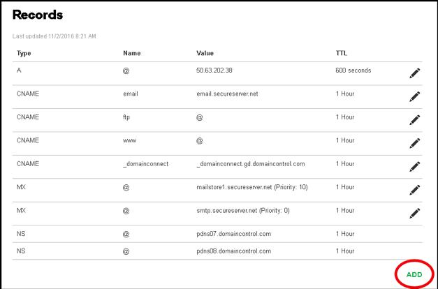 GoDaddy Premium DNS Setup Secondary DNS
