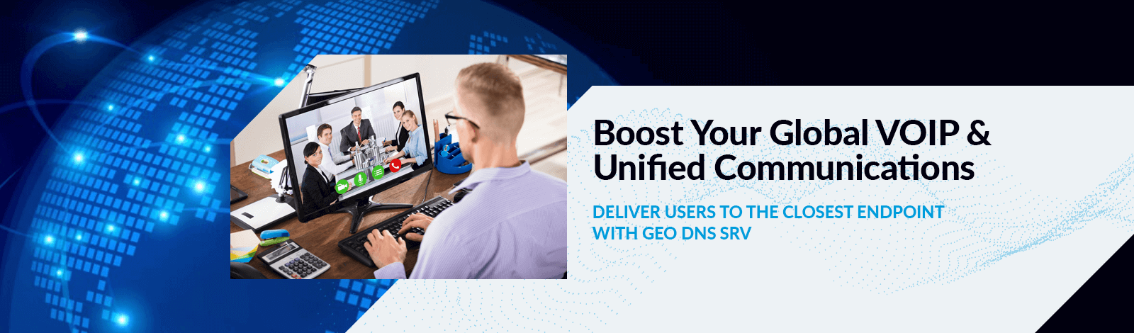 GEO DNS SRV for Unified Communications